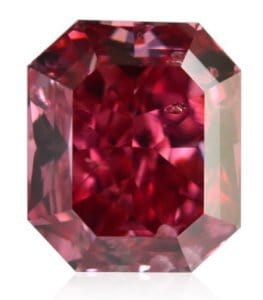 natural red diamond
