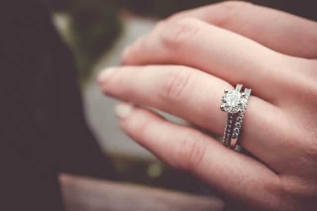 18+ Non Traditional Diamond Engagement Rings Background