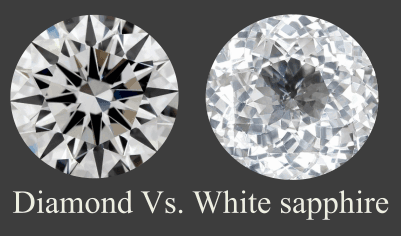 Diamond Vs White Sapphire Jewelry Guide