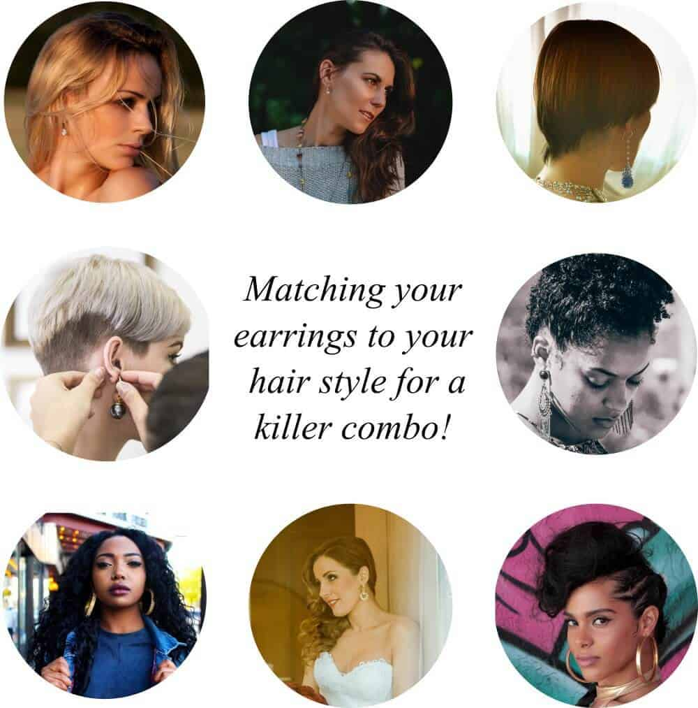 Choosing Earrings To Match Your Hairstyle Jewelry Guide