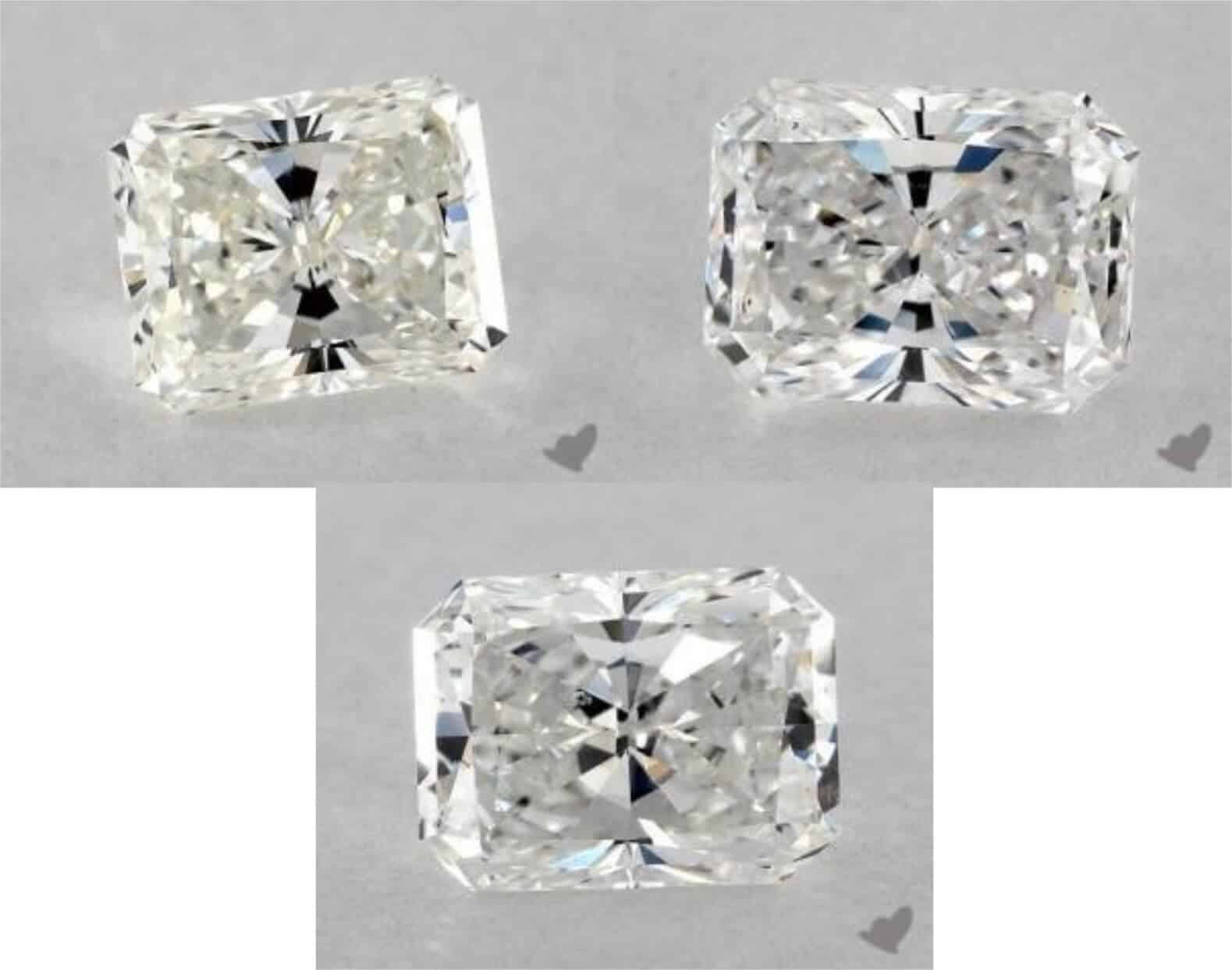Bow Tie Diamond Radiant Cut Jewelry Guide