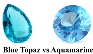 Blue Topaz Vs Aquamarine Side By Side Jewelry Guide