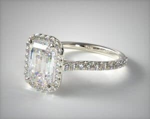 Best Engagement Ring Setting For Emerald Cut Diamonds