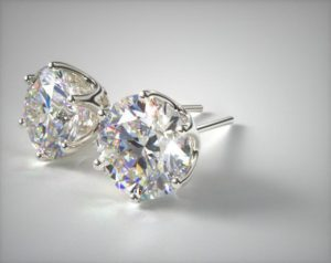 Clic Diamond Stud