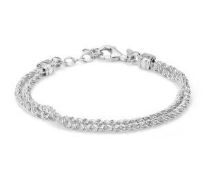 bracelet en argent sterling
