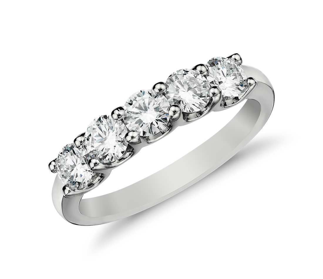 Why Should I Buy A Five Stone Diamond Ring Jewelry Guide