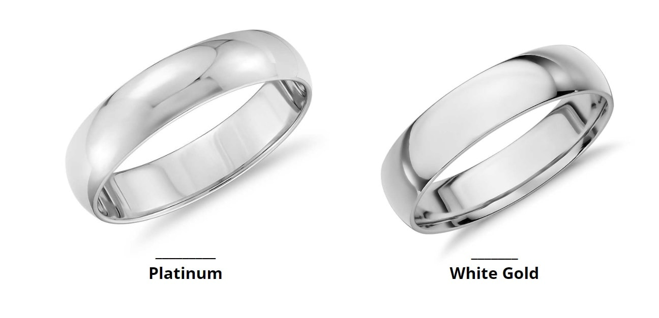 White Gold Vs Platinum Which Is Better For My Ring Jewelry Guide